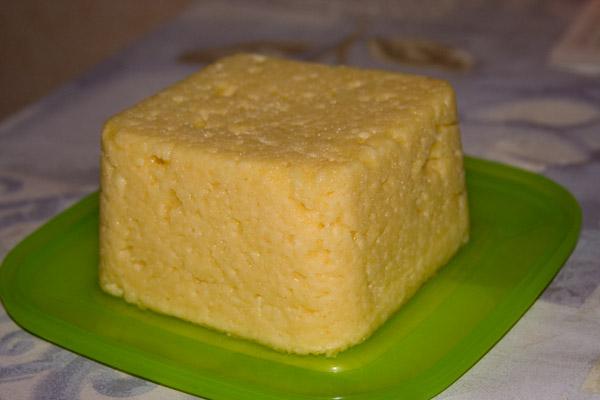 как сделать сыр из творога и молока