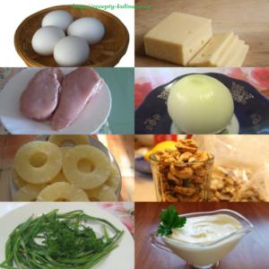 salat-s-kuricei-i-ananasom