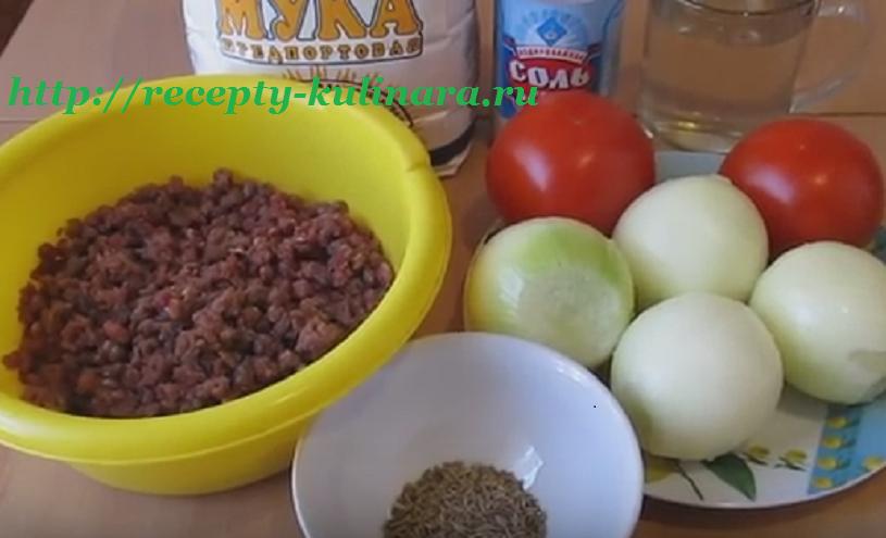 Картофельный пирог с грибами постный рецепт