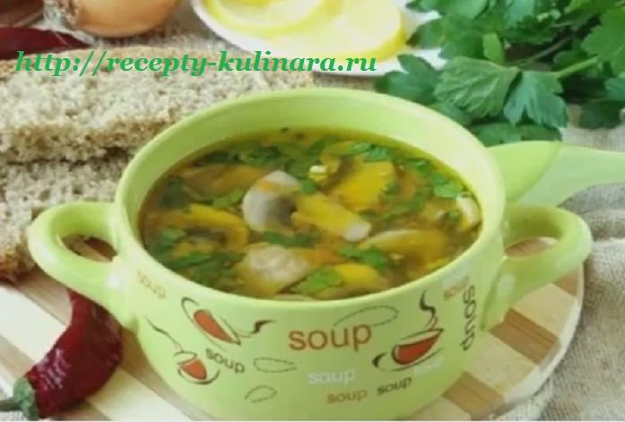 Постные супы — 7 рецептов на каждый день с фото и видео