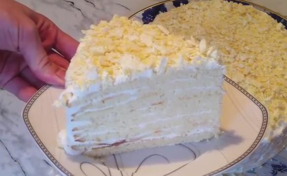 Торт молочная девочка пошаговый рецепт в домашних условиях 29