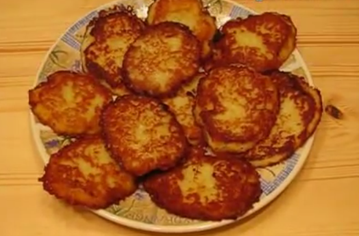 простые драники картофельные рецепт