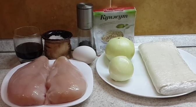 Самса рецепт приготовления в домашних условиях