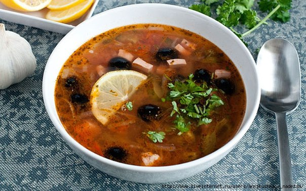 суп солянка сборная мясная классическая рецепт с фото