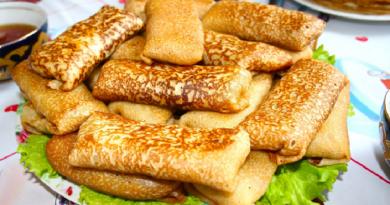 Блины на кефире — 6 рецептов тонких и вкусных блинов с дырочками
