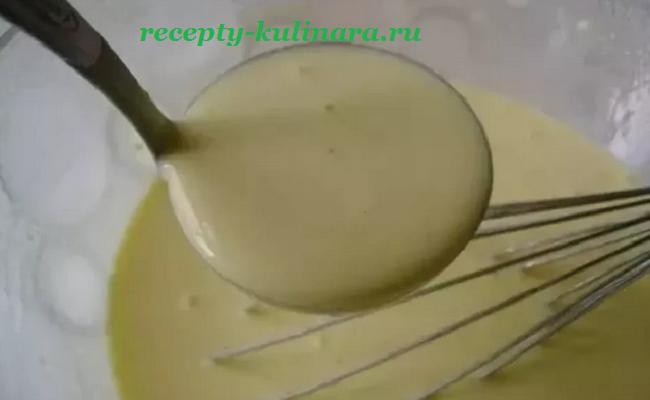 тесто для блинов на молоке рецепт с дырочками