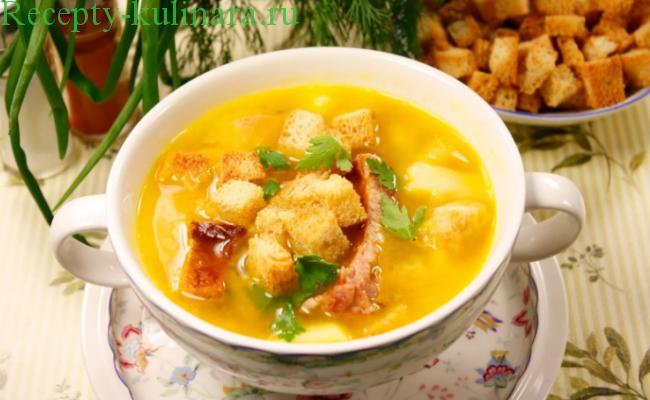 Гороховый суп с копченостями — 4 пошаговых рецепта