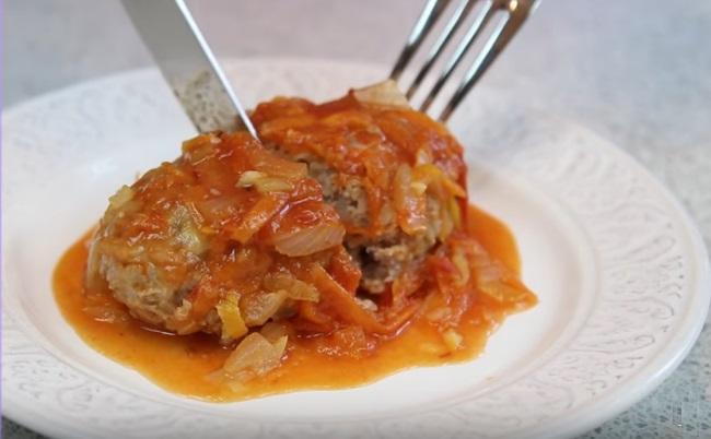 Ленивые голубцы в духовке с капустой и фаршем: пошаговые рецепты