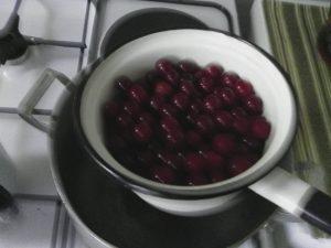 компот из вишни на зиму