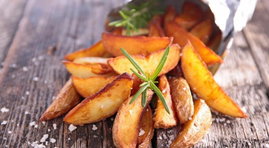 Как подать картофель фри на стол