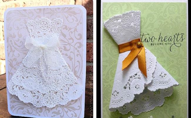 Открытка для девочки с днем рождения своими руками из ажурных салфеток, картинки