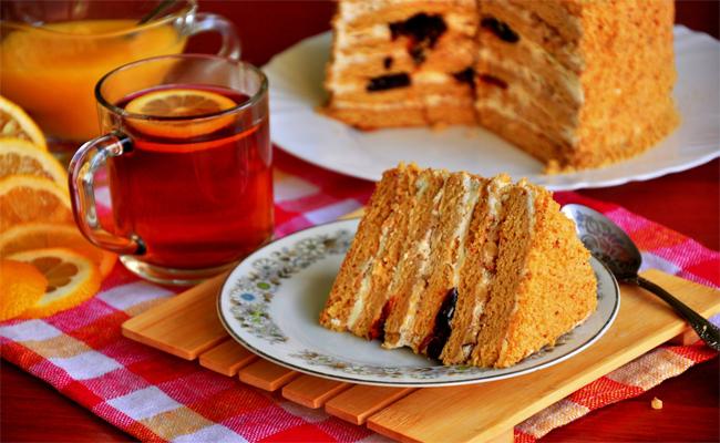 Торт Медовик пошаговый рецепт с фотографиями