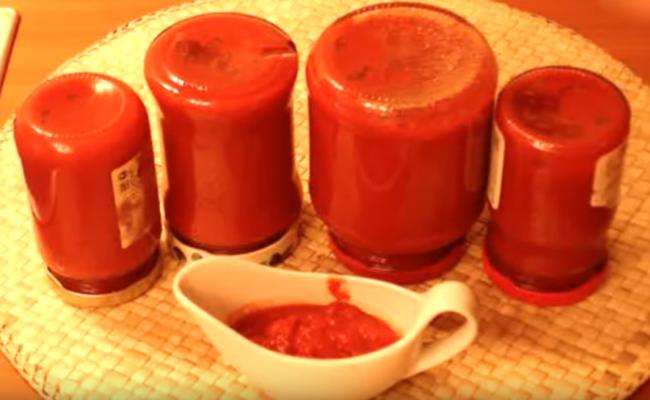 Как приготовить томатную пасту дома