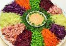 Салат Калейдоскоп праздничный — 5 пошаговых рецептов