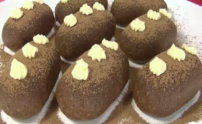 рецепт картошка пирожное дома