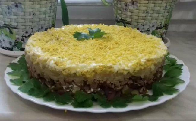 Салат Орландо — 5 пошаговых рецептов