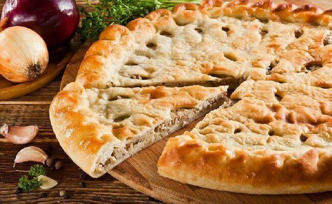 Осетинский пирог с мясом в духовке — пошаговые рецепты