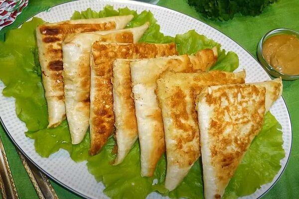 Лаваш с творогом и сыром - лучшие пп-рецепты