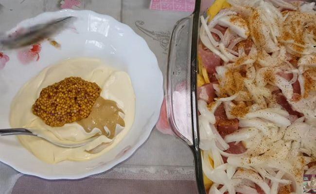 Картофельная запеканка с фаршем и сыром, рецепты в духовке